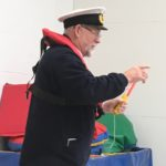 Harbour Master gives talk at Primary School