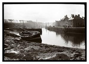 Eyemouth Harbour circa 1910