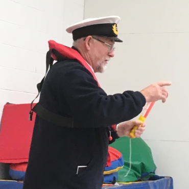 Harbour Master gives talk at Primary School 1