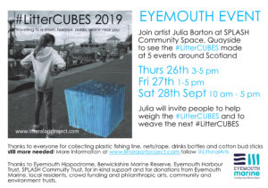 #LitterCUBES Art Project
