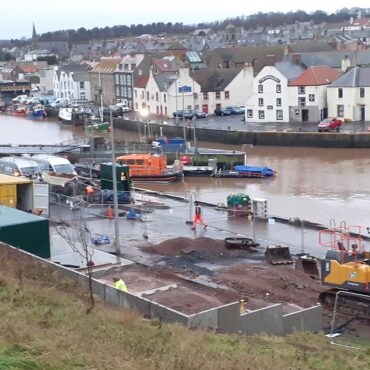 Various Works at Eyemouth Harbour - w/c 7th December 2020