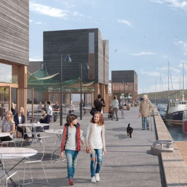 Notification of Submission of Planning Application – Development of Old Fishmarket Site, Harbour Road, Eyemouth.